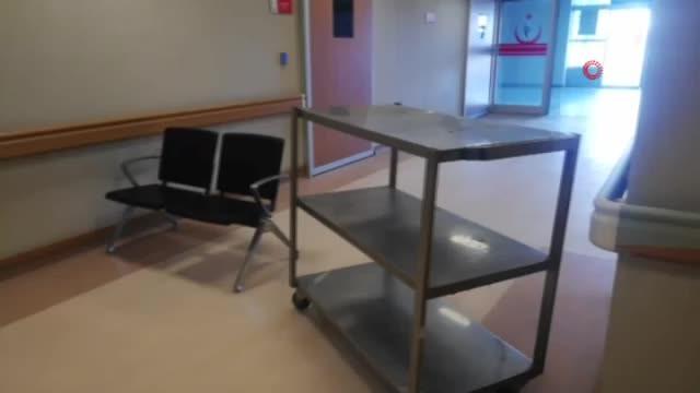 Devlet Hastanesinde 'Domuz gribi' alarmı